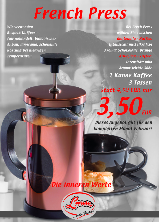 Lamm Mein Bäcker - French Press